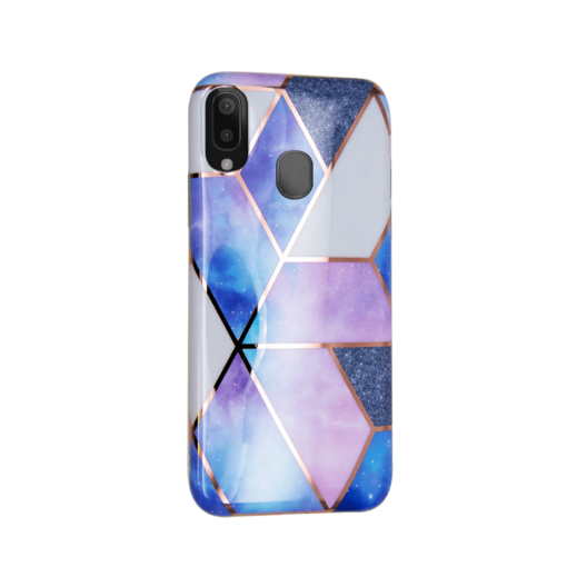 Samsung A40 kaaned silikoonist Cosmo Marble 3