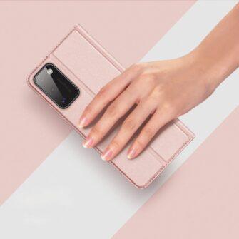 Samsung A41 kaaned Dux Ducis Skin Pro Bookcase kuldne 10