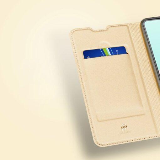 Samsung A41 kaaned Dux Ducis Skin Pro Bookcase kuldne 12