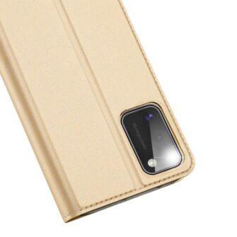 Samsung A41 kaaned Dux Ducis Skin Pro Bookcase kuldne 2