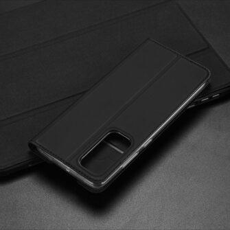 Samsung A41 kaaned Dux Ducis Skin Pro Bookcase kuldne 20