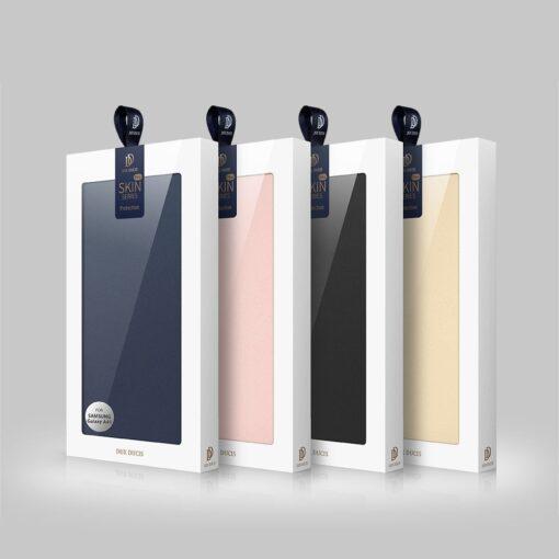 Samsung A41 kaaned Dux Ducis Skin Pro Bookcase kuldne 23