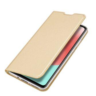 Samsung A41 kaaned Dux Ducis Skin Pro Bookcase kuldne 3