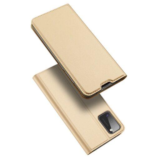 Samsung A41 kaaned Dux Ducis Skin Pro Bookcase kuldne