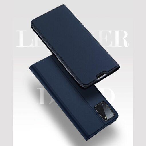 Samsung A41 kaaned Dux Ducis Skin Pro Bookcase kuldne 8
