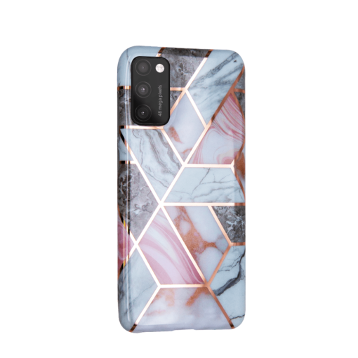 Samsung A41 kaaned silikoonist Cosmo Marble 4