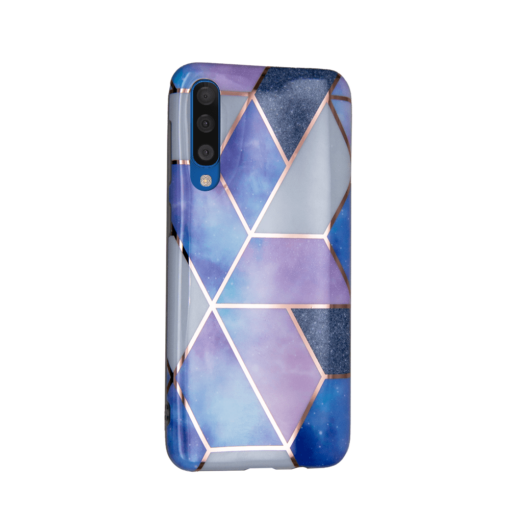 Samsung A50 kaaned silikoonist Cosmo Marble 3