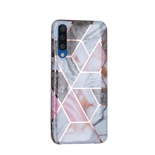 Samsung A50 kaaned silikoonist Cosmo Marble 4