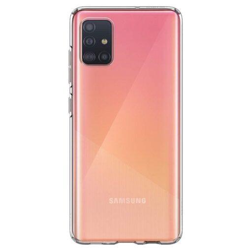 Samsung A51 Spigen Liquid Crystal silikoonist umbris labipaistev 1