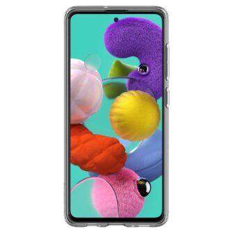 Samsung A51 Spigen Liquid Crystal silikoonist umbris labipaistev 4
