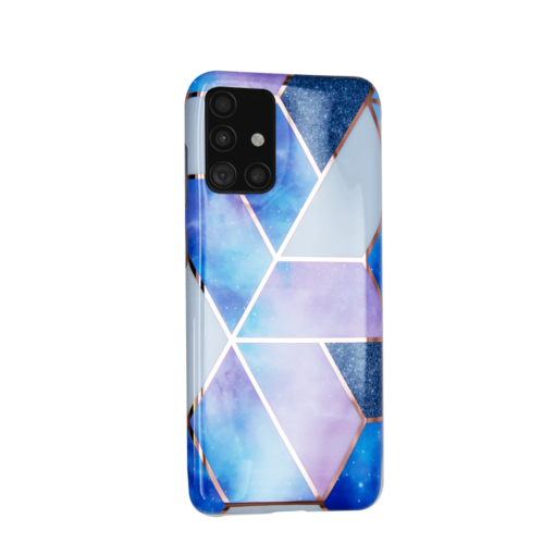 Samsung A51 kaaned silikoonist Cosmo Marble 3