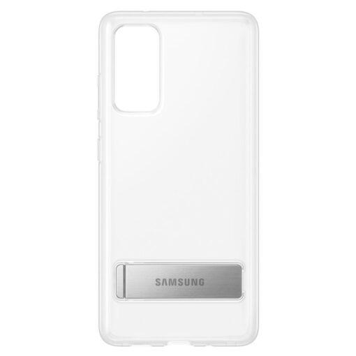 Samsung Galaxy S20 FE silikoonumbris integreeritud statiiviga labipaistev EF JG780CTEGEU 1