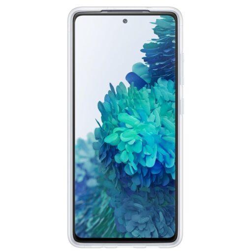 Samsung Galaxy S20 FE silikoonumbris integreeritud statiiviga labipaistev EF JG780CTEGEU 2