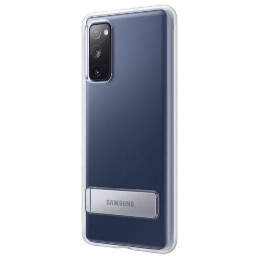 Samsung Galaxy S20 FE silikoonumbris integreeritud statiiviga labipaistev EF JG780CTEGEU 3