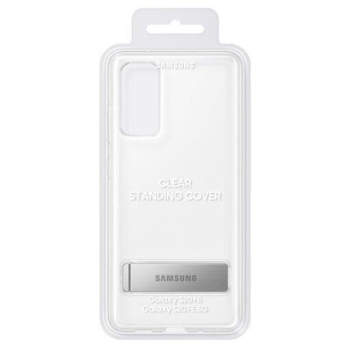 Samsung Galaxy S20 FE silikoonumbris integreeritud statiiviga labipaistev EF JG780CTEGEU 4
