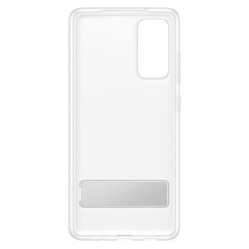Samsung Galaxy S20 FE silikoonumbris integreeritud statiiviga labipaistev EF JG780CTEGEU 6