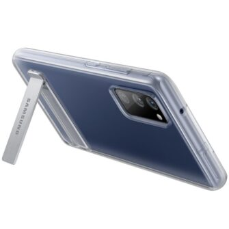 Samsung Galaxy S20 FE silikoonumbris integreeritud statiiviga labipaistev EF JG780CTEGEU 7