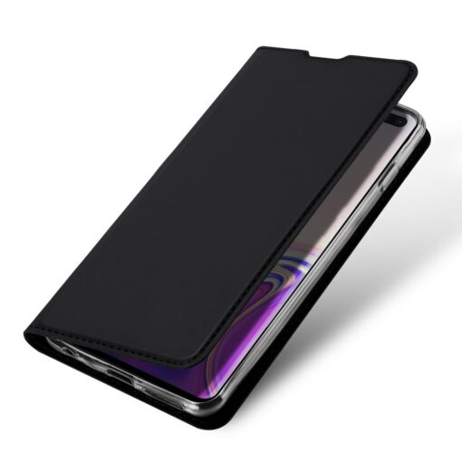 Samsung S10 Plus kaaned Dux Ducis Skin Pro Bookcase must 3