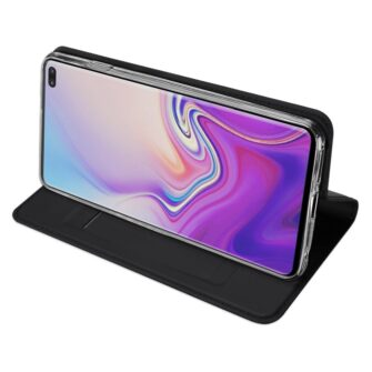 Samsung S10 Plus kaaned Dux Ducis Skin Pro Bookcase must 4