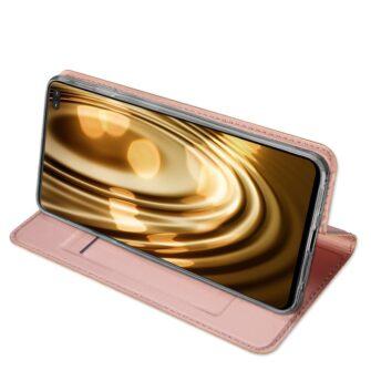 Samsung S10 Plus kaaned Dux Ducis Skin Pro Bookcase roosa 14