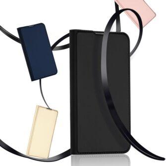 Samsung S10 Plus kaaned Dux Ducis Skin Pro Bookcase roosa 15