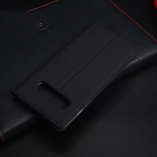 Samsung S10 Plus kaaned Dux Ducis Skin Pro Bookcase roosa 17