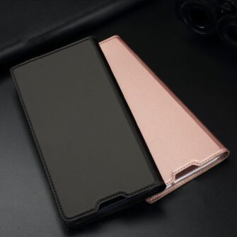 Samsung S10 Plus kaaned Dux Ducis Skin Pro Bookcase roosa 18