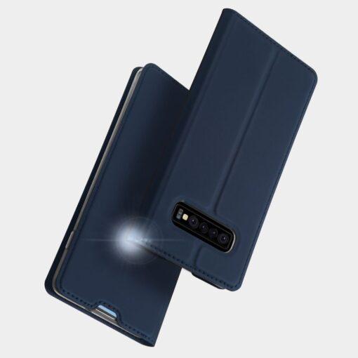 Samsung S10 Plus kaaned Dux Ducis Skin Pro Bookcase roosa 9