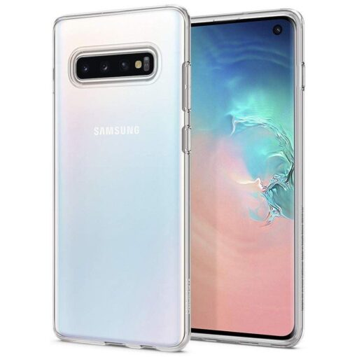 Samsung S10 Spigen Liquid Crystal silikoonist umbris Crystal Clear