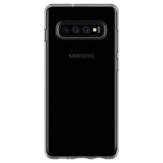 Samsung S10 Spigen Liquid Crystal silikoonist umbris Crystal Clear 6