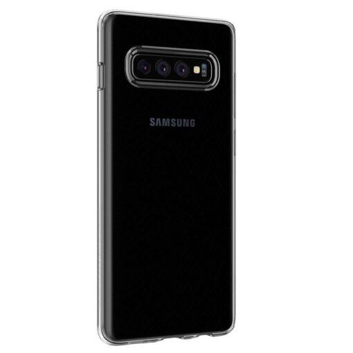 Samsung S10 Spigen Liquid Crystal silikoonist umbris Crystal Clear 7