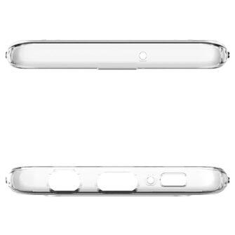 Samsung S10 Spigen Liquid Crystal silikoonist umbris Crystal Clear 9