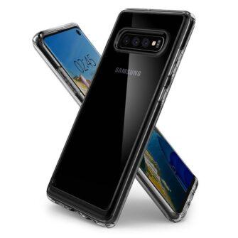 Samsung S10 Spigen Ultra Hybrid S10 Crystal Clear 1