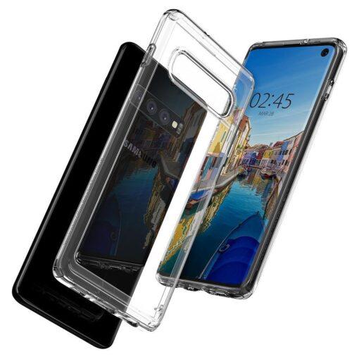 Samsung S10 Spigen Ultra Hybrid S10 Crystal Clear 2