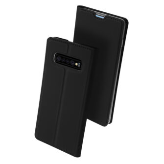 Samsung S10 kaaned Dux Ducis Skin Pro Bookcase must 1