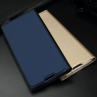 Samsung S10 kaaned Dux Ducis Skin Pro Bookcase must 16