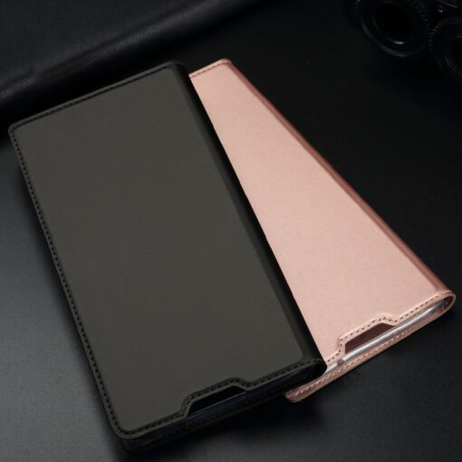 Samsung S10 kaaned Dux Ducis Skin Pro Bookcase must 18