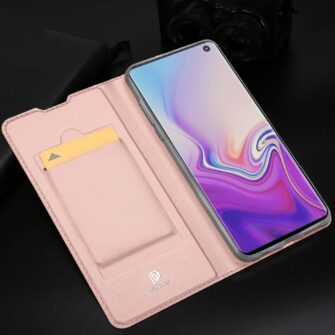 Samsung S10 kaaned Dux Ducis Skin Pro Bookcase must 19