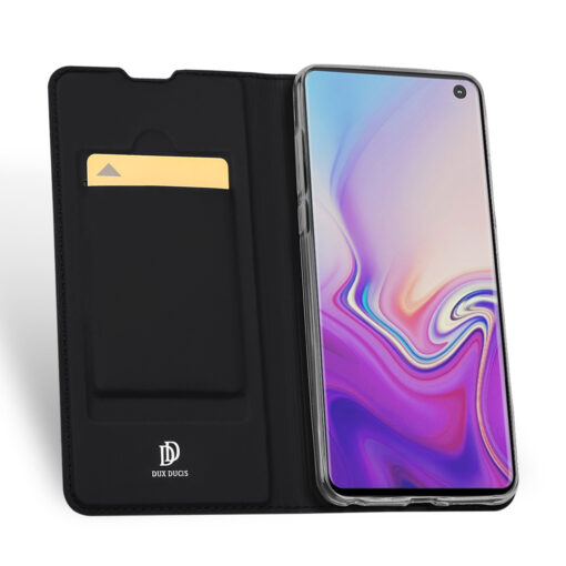 Samsung S10 kaaned Dux Ducis Skin Pro Bookcase must 2