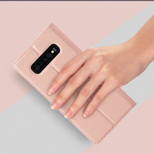 Samsung S10 kaaned Dux Ducis Skin Pro Bookcase must 6