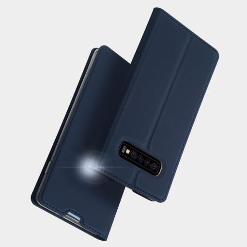 Samsung S10 kaaned Dux Ducis Skin Pro Bookcase must 9