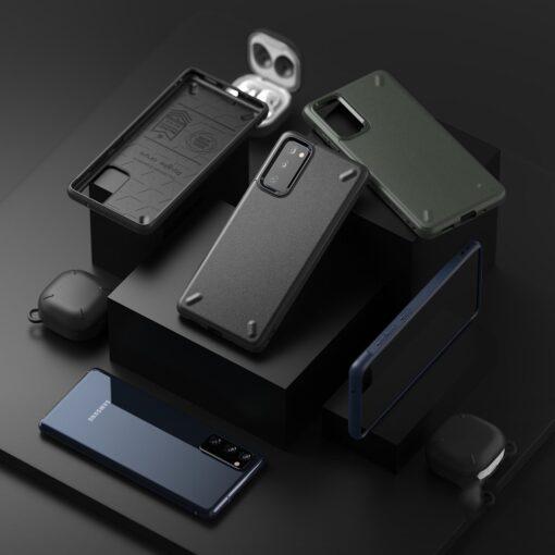 Samsung S20 FE Ringke Onyx tugev silikoonist umbris mustOXSG0022 7