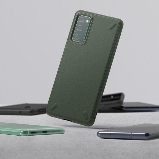 Samsung S20 FE Ringke Onyx tugev silikoonist umbris roheline OXSG0024 1