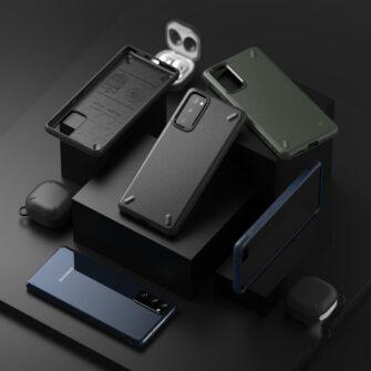 Samsung S20 FE Ringke Onyx tugev silikoonist umbris roheline OXSG0024 4