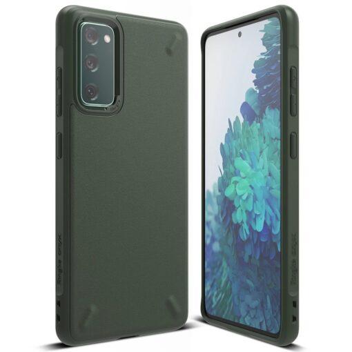 Samsung S20 FE Ringke Onyx tugev silikoonist umbris roheline OXSG0024