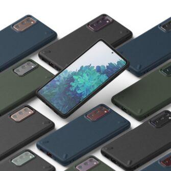 Samsung S20 FE Ringke Onyx tugev silikoonist umbris roheline OXSG0024 6