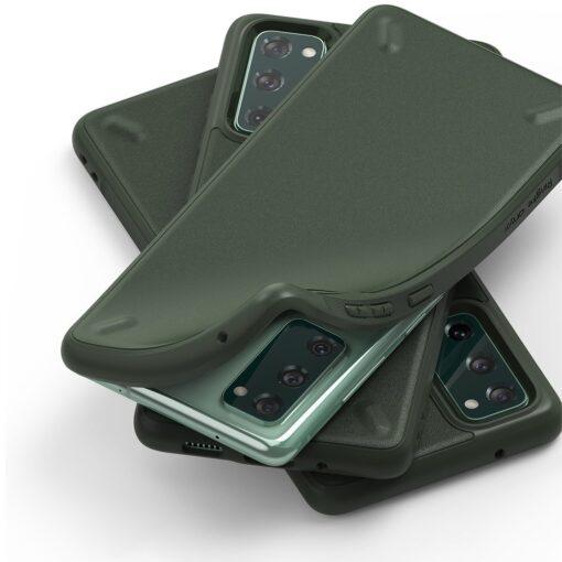 Samsung S20 FE Ringke Onyx tugev silikoonist umbris roheline OXSG0024 7