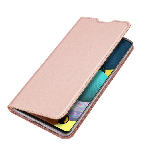 Samsung S20 FE kaaned Dux Ducis Skin Pro Bookcase roosa 3
