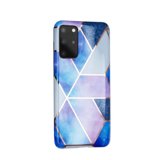 Samsung S20 Plus kaaned silikoonist Cosmo Marble 3
