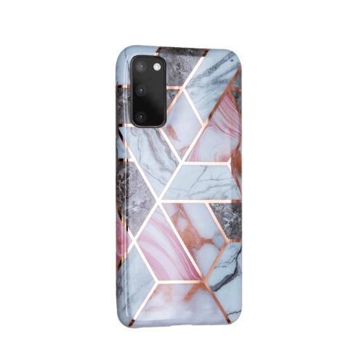 Samsung S20 kaaned silikoonist Cosmo Marble 4